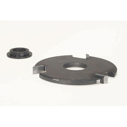 "View a Larger Image of EC-140 Straight Edge Shaper Cutter, 2-7/8"" OD, 1/4"" CL, 3/4"" bore"