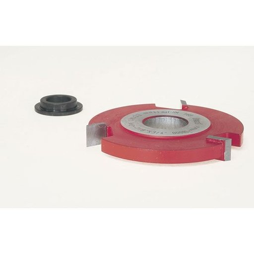 "View a Larger Image of EC-141 Straight Edge Shaper Cutter, 2-7/8"" OD, 3/8"" CL, 3/4"" bore"