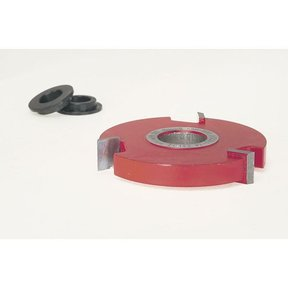 "EC-142 Straight Edge Shaper Cutter, 2-7/8"" OD, 1/2"" CL, 3/4"" bore"
