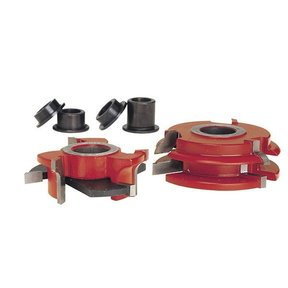"EC-260 3/4"" Stock Male & Female Cabinet Door Cutter Set, 2-7/16"" OD, 3/4"" bore"