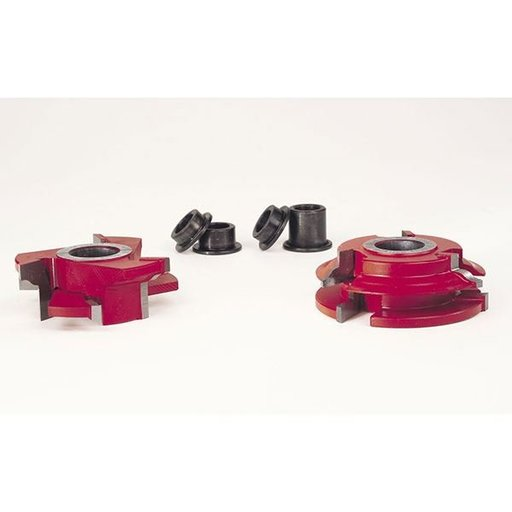 "View a Larger Image of EC-261 3/4"" Stock Male & Female Cabinet Door Cutter Set, 2-11/16"" OD, 3/4"" bore"