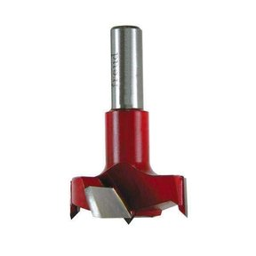 Industrial Carbide Tipped Cylinder Boring Bit, 15mm D x 57.5mm L x 10mm Sh x Left, # CB15057L