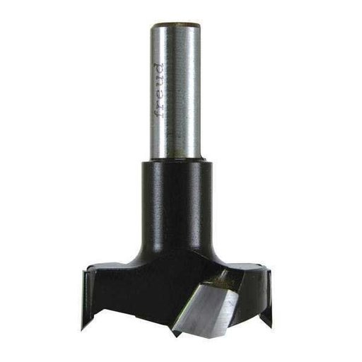 View a Larger Image of Industrial Carbide Tipped Cylinder Boring Bit, 22mm D x 70mm L x 10mm Sh x Right, # CB22070R