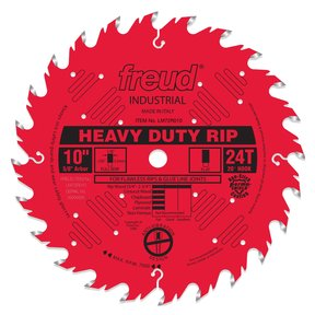 "LM72R010 Ripping Saw Blade 10"" x 5/8"" Bore x 24 Tooth Flat Top"