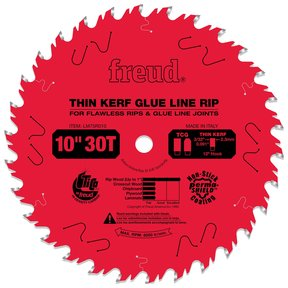 "LM75R010 Glue Line Ripping Saw Blade 10"" x 5/8"" Bore x 30 Tooth Thin Kerf"