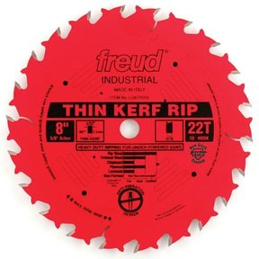 "LU87R008 Red Perma Shield Circular Saw Blade 8"" x 5/8"" Bore x 22 Tooth ATB"