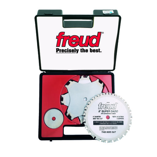 "View a Larger Image of SD508 Circular Saw Super Dado Saw Blade Set 8"" x 5/8"" Bore"