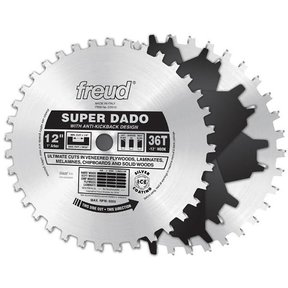 "SD512 12"" Super Dado Set 36 Teeth"