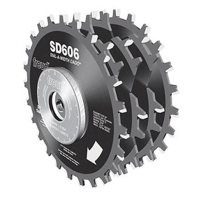 "SD606 Circular Saw Dial Dado Saw Blade Set, 6"" X 5/8"" Bore"