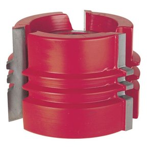 "UP035 Glue Joint Shaper Cutter, 3-9/16"" OD, 13/64"" CD, 2-3/8"" CL, 1-1/4"" bore"