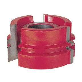 "UP037 Glue Joint Shaper Cutter, 3-9/16"" OD, 13/64"" CD, 1-23/32"" CL, 1-1/4"" bore"