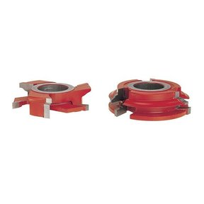 "UP261 3/4"" Stock Male & Female Cabinet Door Cutter Set, 3-9/16"" OD, 1-1/4"" bore"