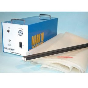 "Fully Automatic Vacuum Pump System with 54"" x 109"" Poly Bag, 10 CFM , 5 Micron Fiter, 10' Hose, Model Pro-10"