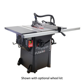 1-1/2HP 1PH 110V Fusion F1 Table Saw