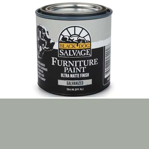 View a Larger Image of Galvanized - Gray Furniture Paint, 1/2 Pint 236.6ml (8 fl. Oz.)