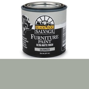 Galvanized - Gray Furniture Paint, 1/2 Pint 236.6ml (8 fl. Oz.)