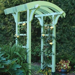 Garden Arbor and Gate - Downloadable Plan