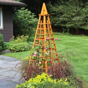 Garden Obelisk Downloadable Plan