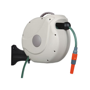 """1/2"""" NW Retractable Hose Reel with 30m/98 ft. Hose"""