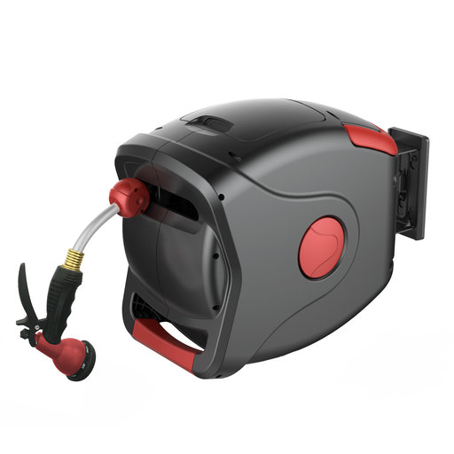 """View a Larger Image of 1/2"""" XW Retractable Hose Reel with 22.5m/75 ft. Hose"""