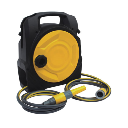 """View a Larger Image of 5/16"""" JW Handy Hose Reel with 20m/65 ft. Hose"""
