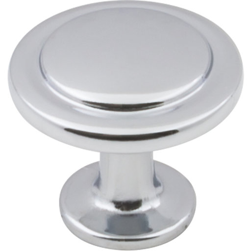 "View a Larger Image of Gatsby Knob, 1-1/4"" Dia.,  Polished Chrome"