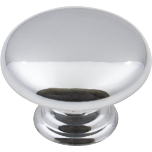 "View a Larger Image of Gatsby Knob, 1-3/16"" Dia.,  Polished Chrome"
