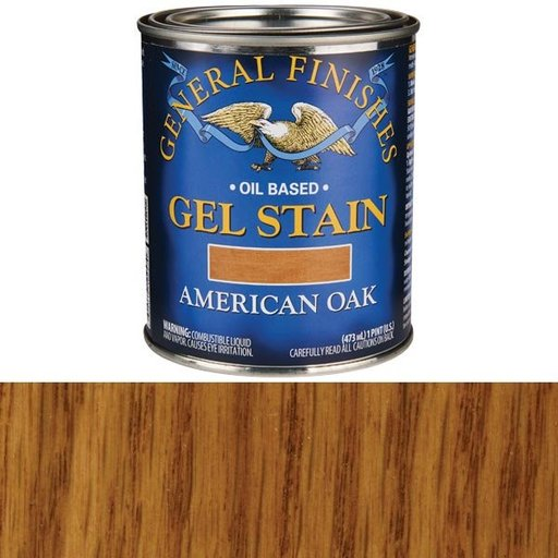 View a Larger Image of American Oak  Gel Stain Solvent Based Pint