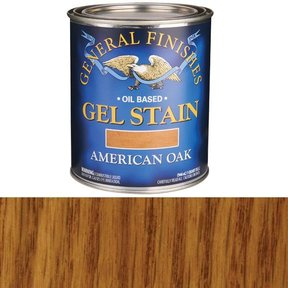 American Oak Gel Stain Quart