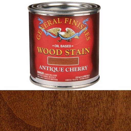 View a Larger Image of Antique Cherry Oil Stain 1/2 Pint