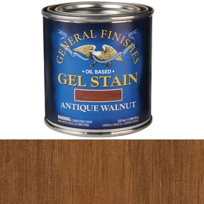 Antique Walnut Gel Stain 1/2 Pint