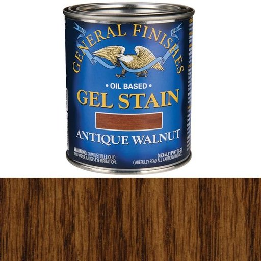 View a Larger Image of Antique Walnut Gel Stain Pint