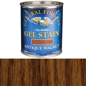 Antique Walnut Gel Stain Solvent Based Quart