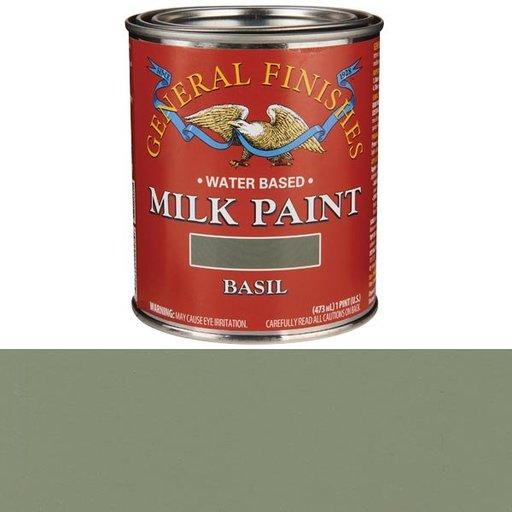 View a Larger Image of Basil Milk Paint Water Based Pint