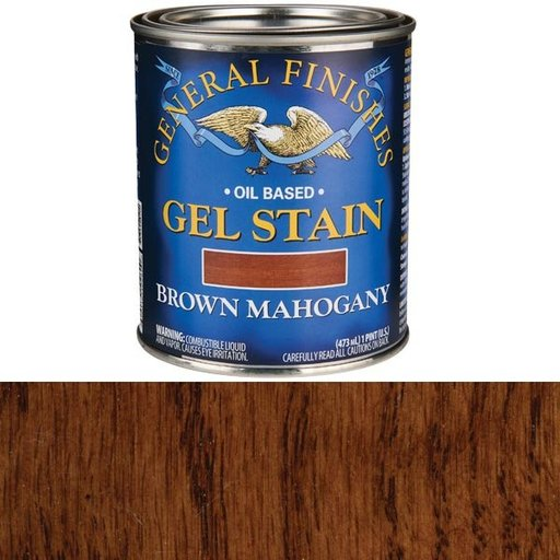 View a Larger Image of Brown Mahogany Gel Stain Pint