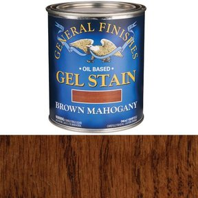 Brown Mahogany Gel Stain Quart