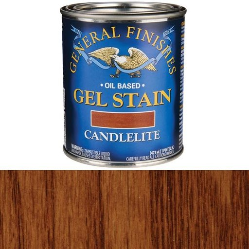 View a Larger Image of Candlelite Gel Stain Solvent Based Pint