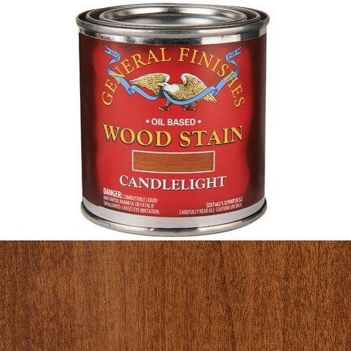 View a Larger Image of Candlelite Stain Solvent Based 1/2 Pint