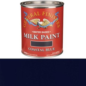 Coastal Blue Milk Paint Water Based Quart