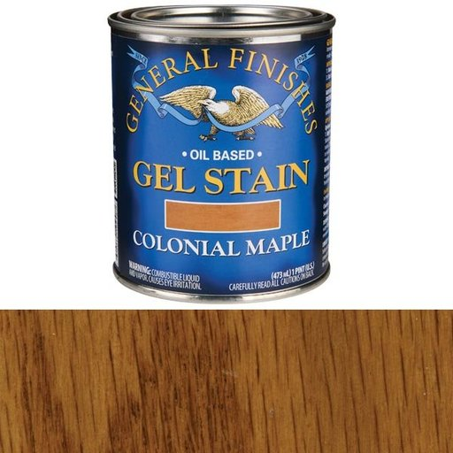 View a Larger Image of Colonial Maple Gel Stain Pint