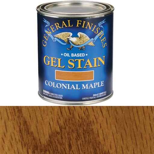 View a Larger Image of Colonial Maple Gel Stain Quart