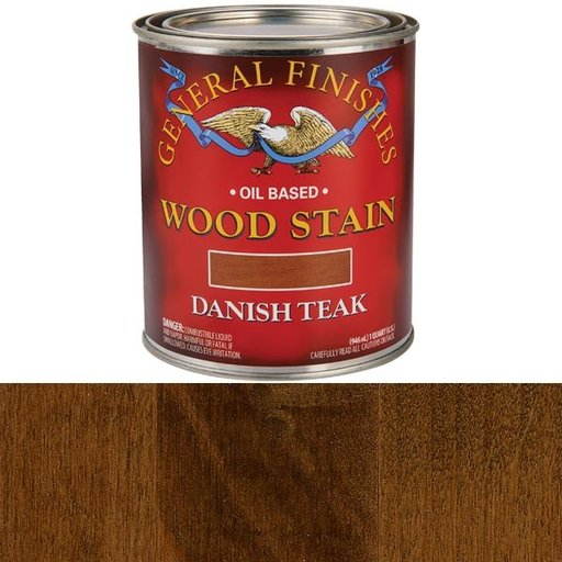 View a Larger Image of Danish Teak Stain Solvent Based Quart