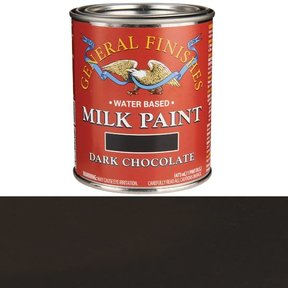 Dark Chocolate Milk Paint Water Based Pint