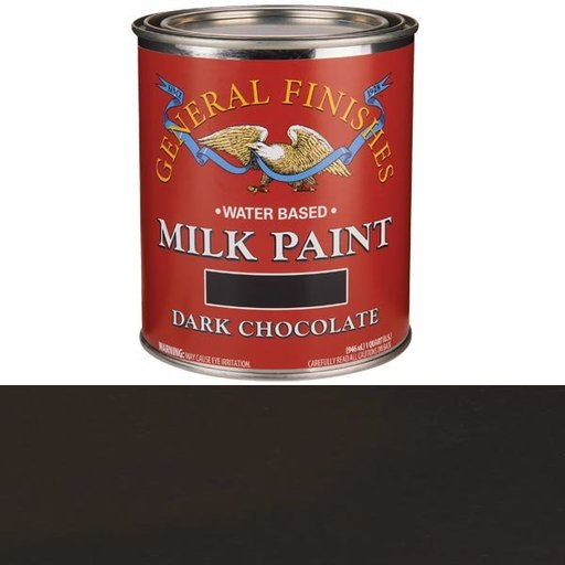 View a Larger Image of Dark Chocolate Milk Paint Water Based Quart