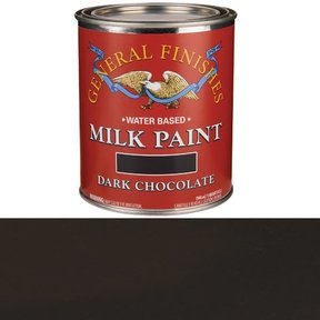 Dark Chocolate Milk Paint Water Based Quart