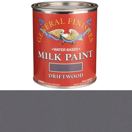 View a Larger Image of Driftwood Water Based Milk Paint Quart