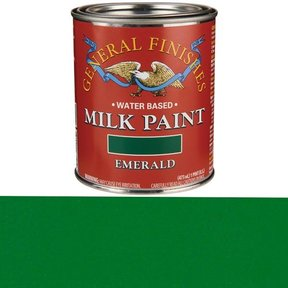 Emerald Milk Paint Water Based Pint