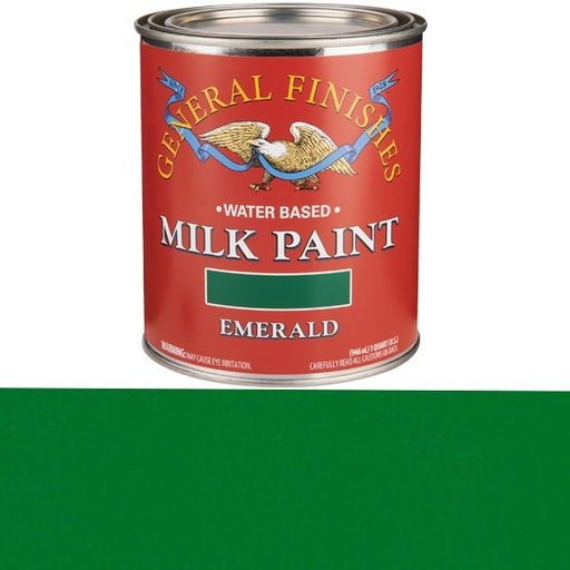 View a Larger Image of Emerald Milk Paint Quart