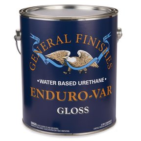 Gloss Enduro-Var Varnish Water Based Gallon