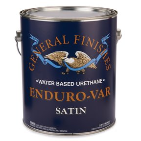 Satin Enduro-Var Varnish Water Based Gallon